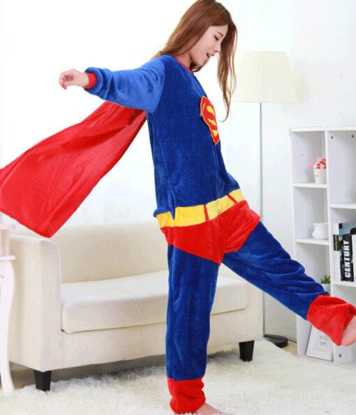 Superhero Unisex Onesie Pajamas 2