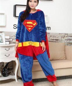 Superhero Unisex Onesie Pajamas 5