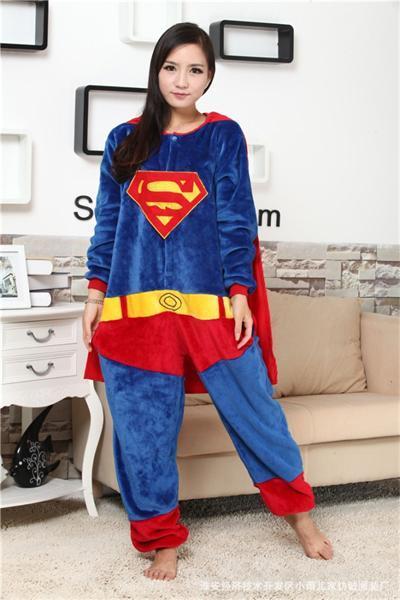 Superhero Unisex Onesie Pajamas 3