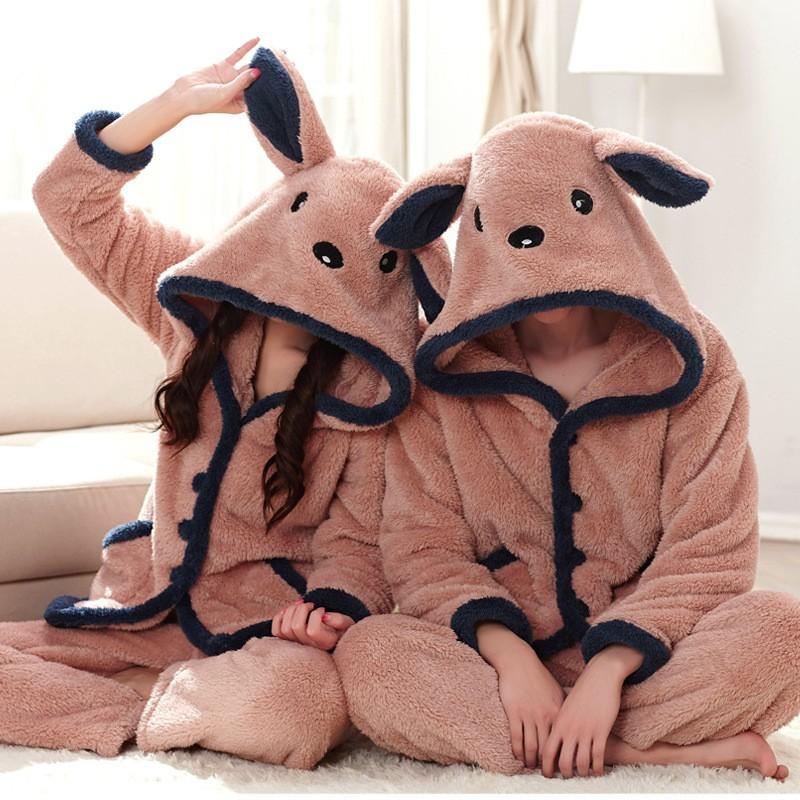 couple animal pajamas