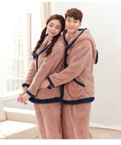Winter Cute Couple Matching Pajamas 6