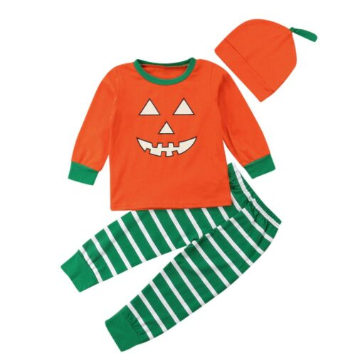 Halloween Festive Cute Kids Pajamas 1