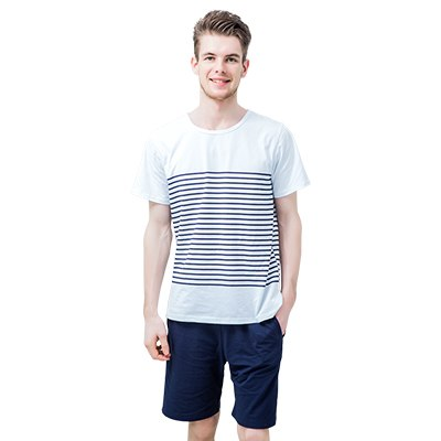 Cool Striped Men's Nightwear Pajamas 4