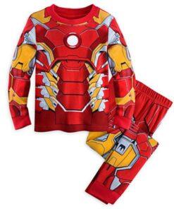 Ironman Superhero Pajamas for Kids 3