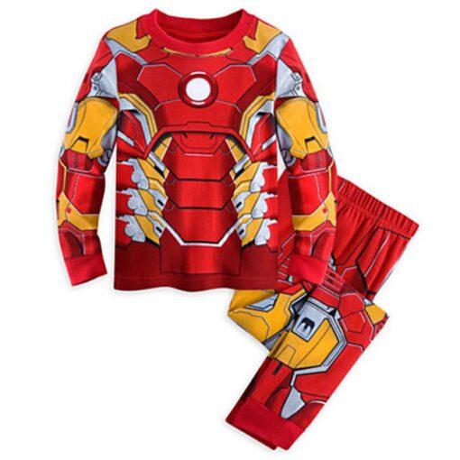 Ironman Superhero Pajamas for Kids 1