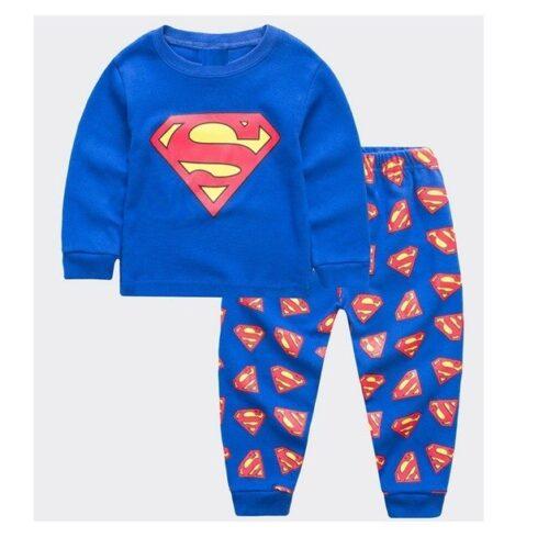Kids Superhero Theme Pajamas 1