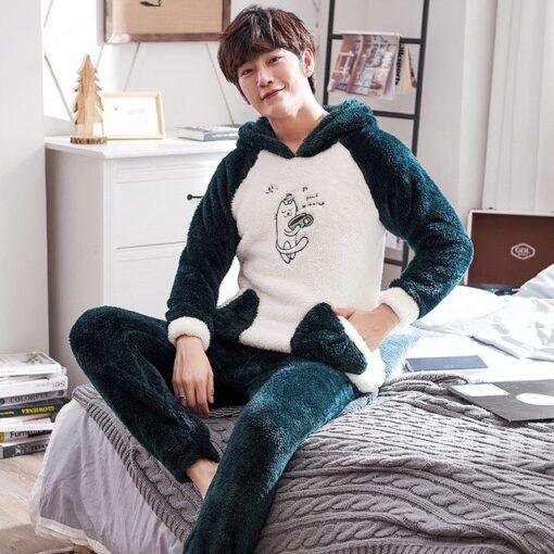 Winter Cute Couple Matching Pajamas 5
