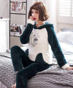 Winter Cute Couple Matching Pajamas 8