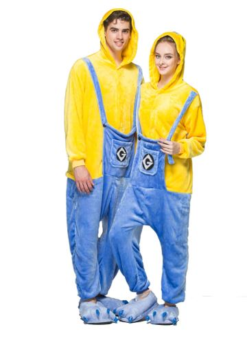 Minion Theme Matching Onesies for Couples 1