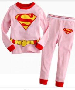 Amazing Superhero Theme Girls Pajamas 3