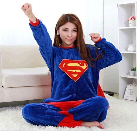 Superhero Unisex Onesie Pajamas 1