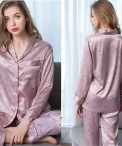 Elegant and Classy Couple Nightwear Pajamas 6