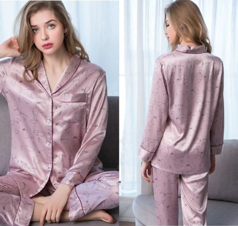 Elegant and Classy Couple Nightwear Pajamas 2