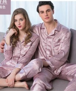 Elegant and Classy Couple Nightwear Pajamas 7