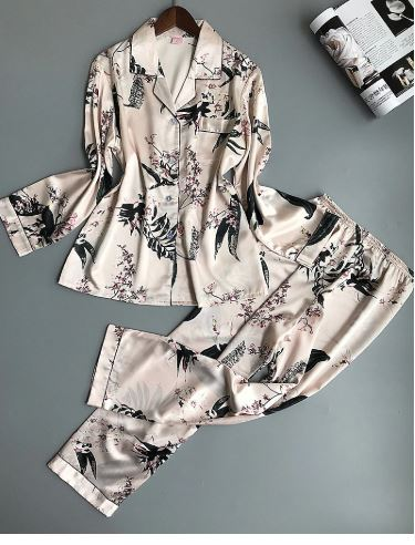 Beautiful Printed Women Night Suit Pajamas 1