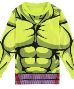 Latest Hulk Superhero Pajamas for Boys 5