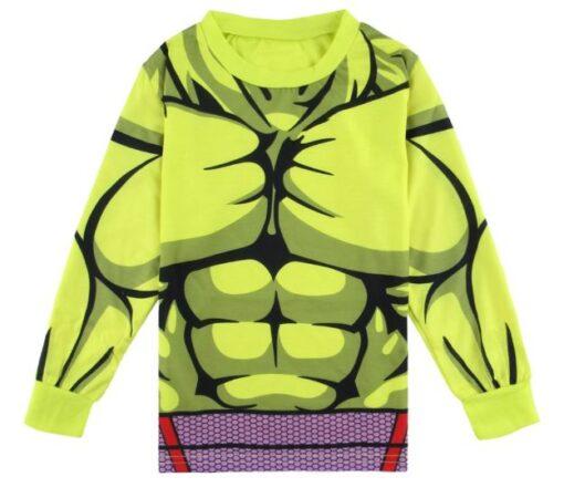 Latest Hulk Superhero Pajamas for Boys 3