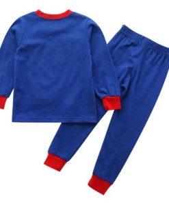 Cute Superhero Theme Kids Pajamas 3