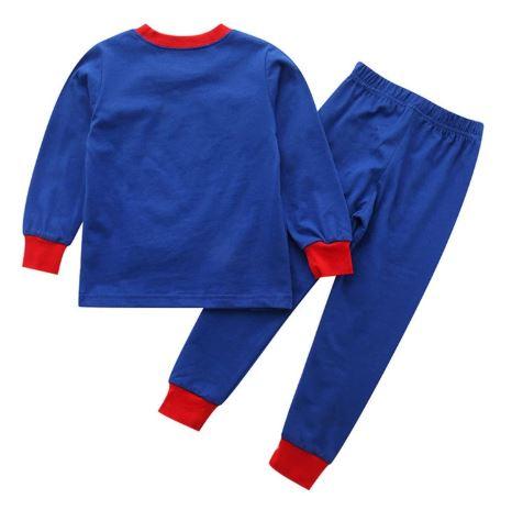 Cute Superhero Theme Kids Pajamas 2