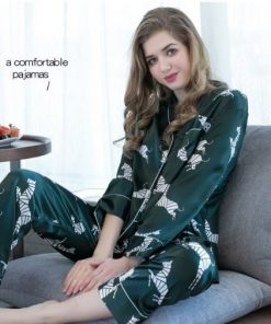Voguish Printed Couple Pajamas 6