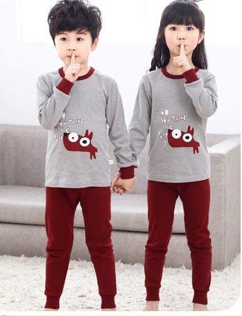 Cotton Unisex Night Suit Pajamas for Kids 2