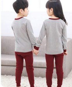Cotton Unisex Night Suit Pajamas for Kids 5