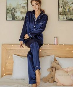 Adorable Satin Pajamas for Women 6