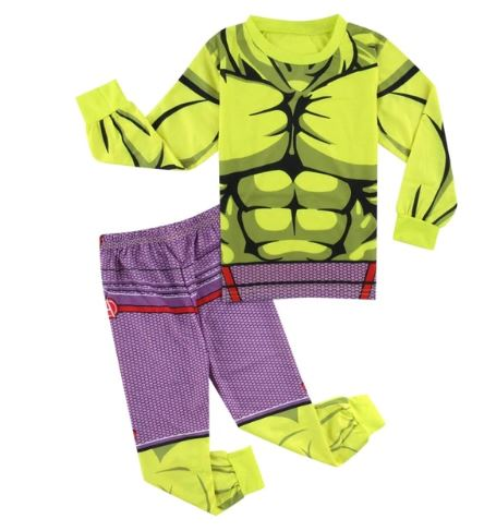 Latest Hulk Superhero Pajamas for Boys 1