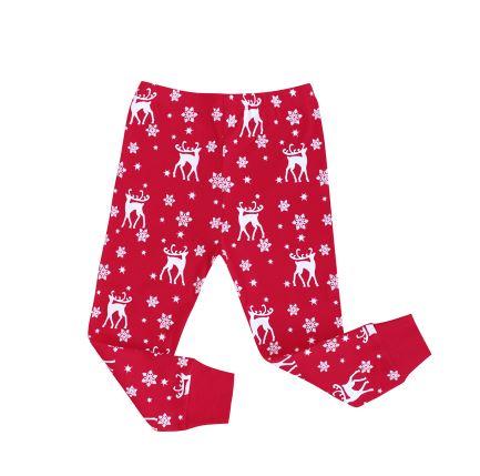 Cozy Christmas Reindeer Kids Pajamas 3