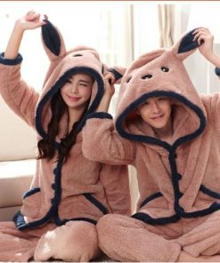 Winter Cute Couple Matching Pajamas 5