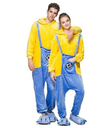 Minion Theme Matching Onesies for Couples 3