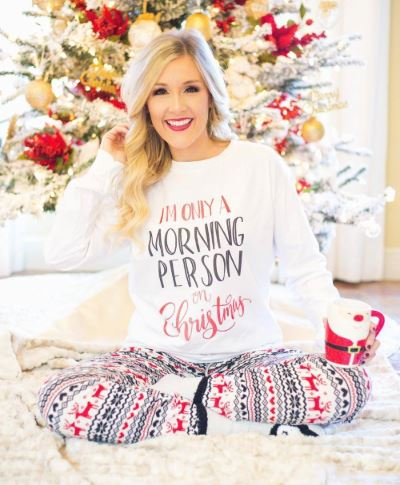 Adorable Christmas Women Pajamas 2