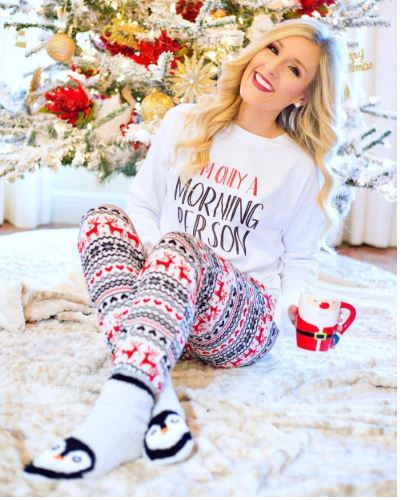 Adorable Christmas Women Pajamas 1
