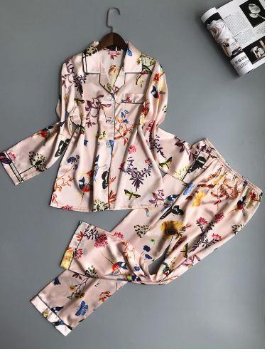 Beautiful Printed Women Night Suit Pajamas 1