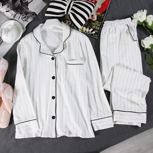 Black Friday Striped Pajamas for Women 1