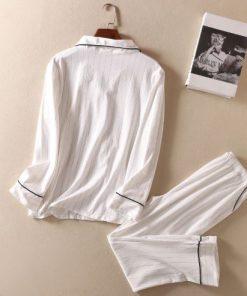 Black Friday Striped Pajamas for Women 4