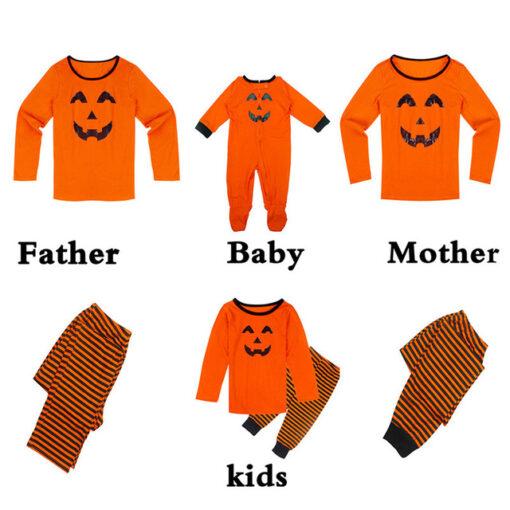 Halloween Family Matching Pajamas 2