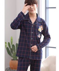 Cotton Casual Family Matching Pajamas 8
