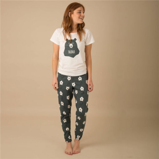 Casual Animal Print  Matching Pajamas For Family 5