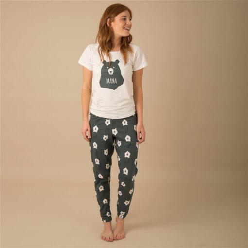 Casual Animal Print Matching Pajamas For Family 5