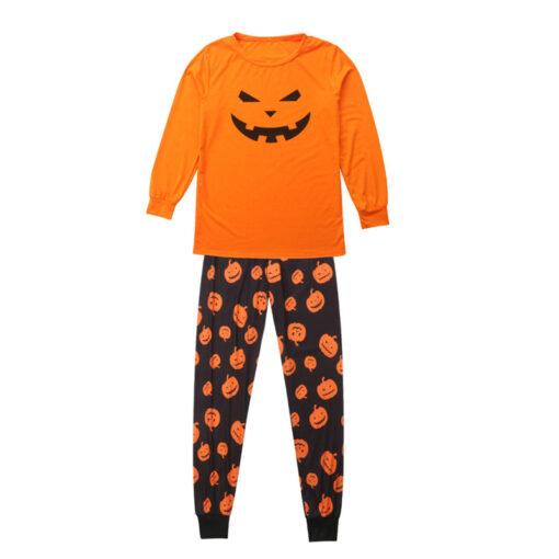 Jack-o'-lantern Printed Matching Family Pajamaas 3