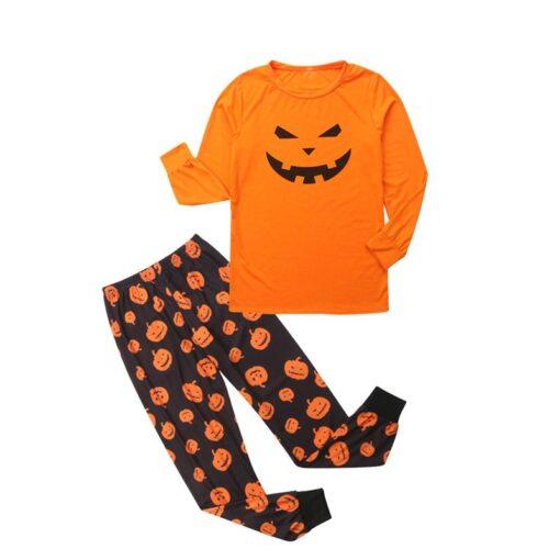 Jack-o'-lantern Printed Matching Family Pajamaas 5