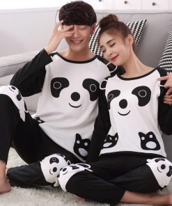 Animal Print Matching Family Pajamas Set 3