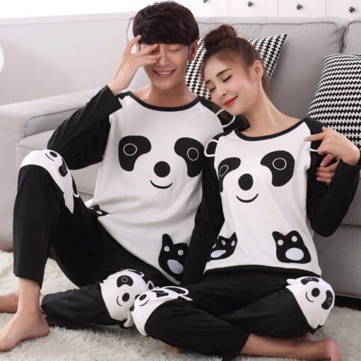 Animal Print Matching Family Pajamas Set 1