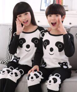Animal Print Matching Family Pajamas Set 4