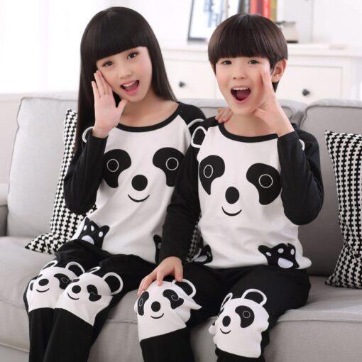 Animal Print Matching Family Pajamas Set 2
