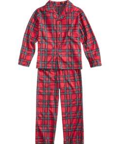 Plaids Matching Family Pajamas 6