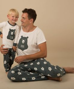 Casual Animal Print  Matching Pajamas For Family 7