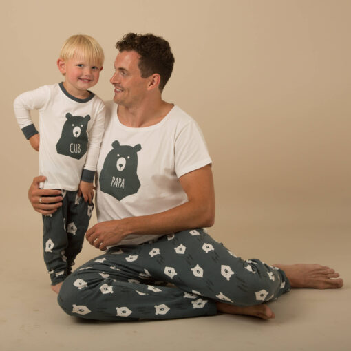 Casual Animal Print  Matching Pajamas For Family 2