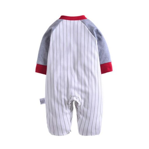 Adorable Sport Onesie Pajamas For Infants 2